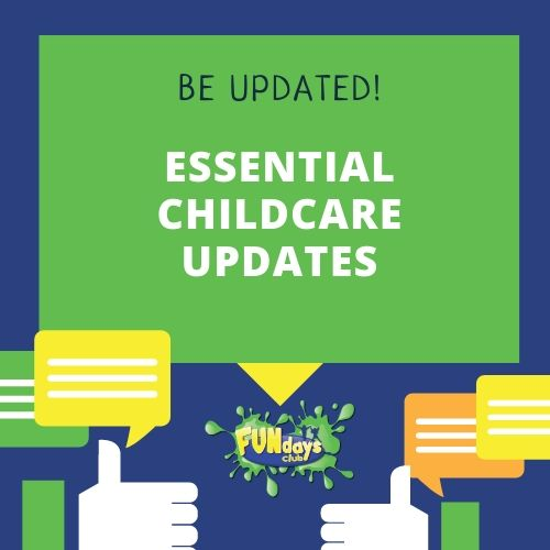 Essential changes to terms and conditions for Key Workers and Vulnerable Children - CCPS Essential Emails  [UPDATED 05.02.21]