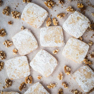 Powdered Walnut Shortbread