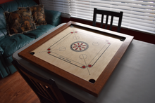 Load image into Gallery viewer, African Sapele & Walnut Carrom Board - Children's Size - Carrom Canada