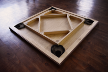 Load image into Gallery viewer, Australian Lacewood & Walnut Carrom Board - Children's Size - Carrom Canada