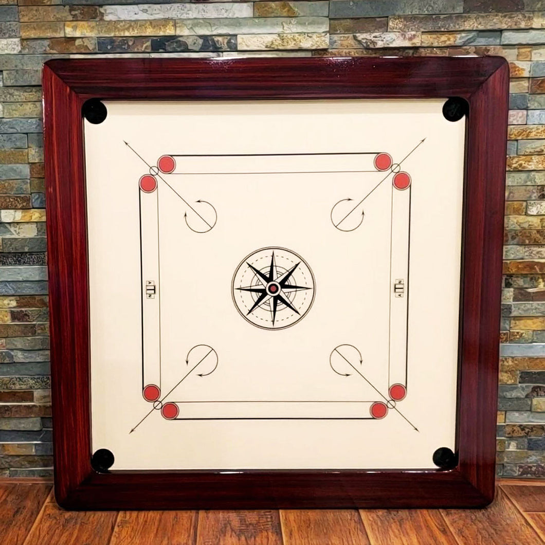 The Prince of Arabia - Deluxe Tournament Size Carrom Board with Acrylic Surface - Carrom Canada