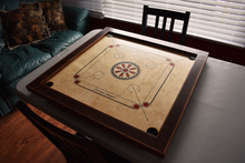 Load image into Gallery viewer, Wenge & Walnut Carrom Board - Children's Size - Carrom Canada