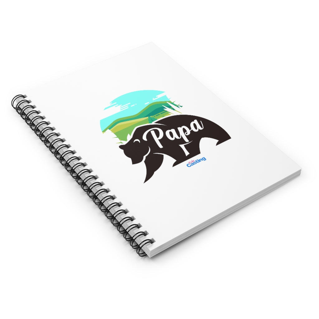 Family Papa Spiral Notebook