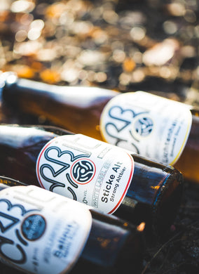 White Label Series Beers by Orbit Beers