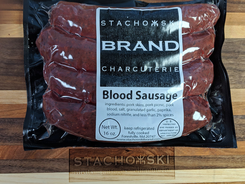 Blood Sausage (Fully Cooked)