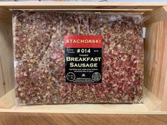 Three Deuces Ground Breakfast Sausage (Fresh) 5 lb Bag