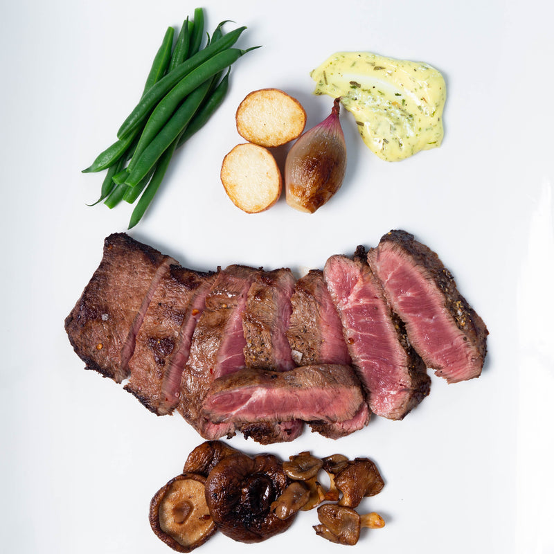 Marinated Flat Iron Steak (2- 16 oz ea)