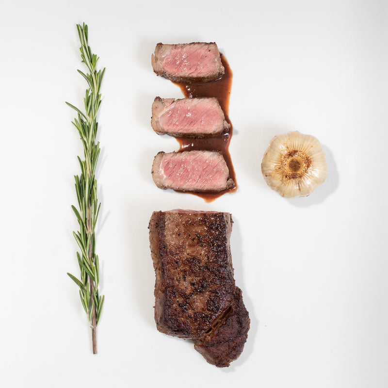 NY Prime Strip Steak (2- 12 oz ea)