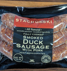 Smoked Duck Sausage (Fully Cooked)