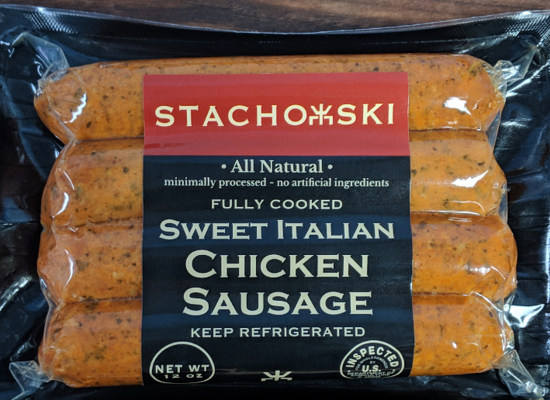 Sweet Italian Chicken Sausage (Fully Cooked)