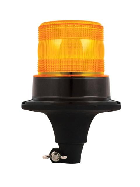 ECE R10 LED Warning Beacon - Flexible DIN Mount