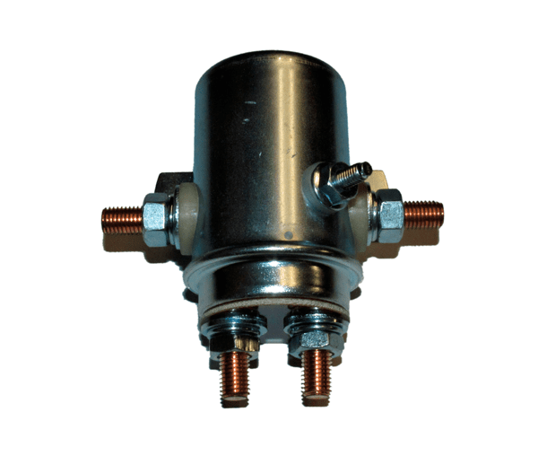 Winch Solenoid - Cylinder style