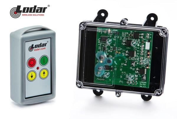 LODAR 2 function radio remote system