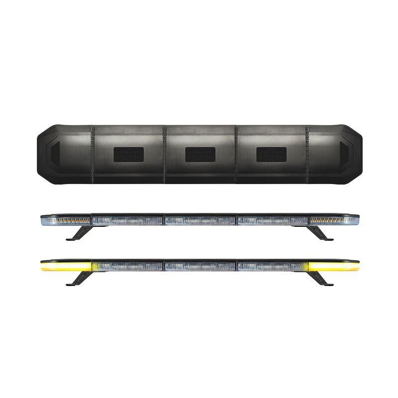 LED R65 High Power End Module Populated Lightbar