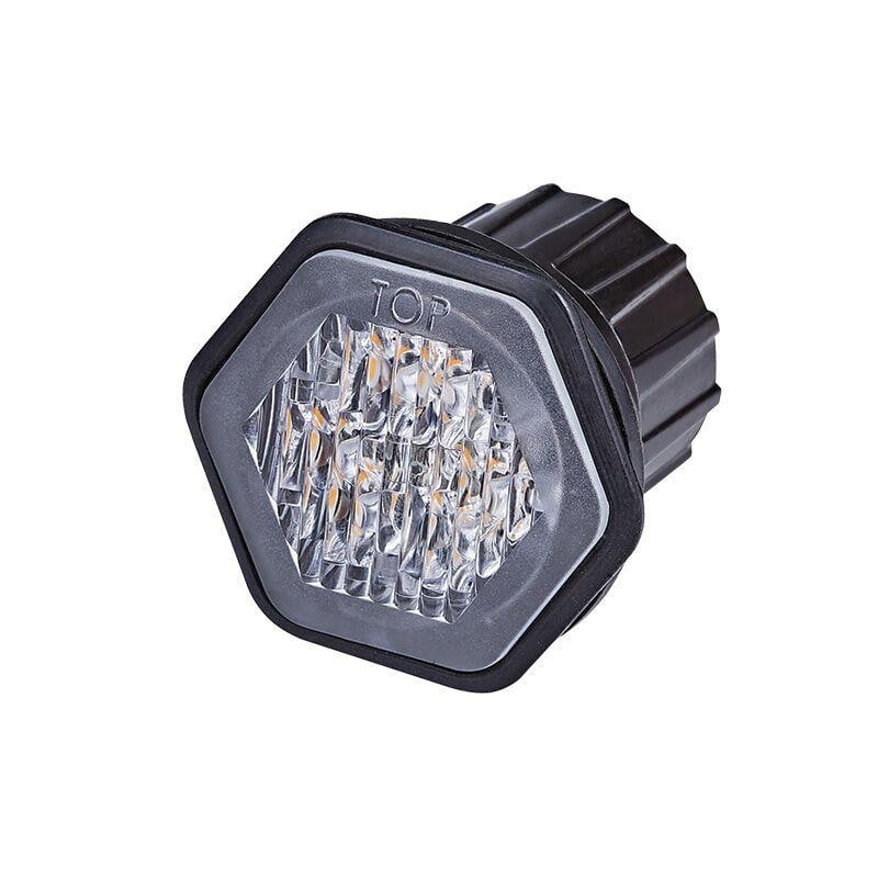 Recess Mounted LED Amber Warning Light