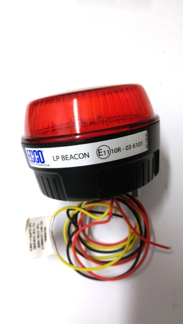 Xenon beacon low profile Red
