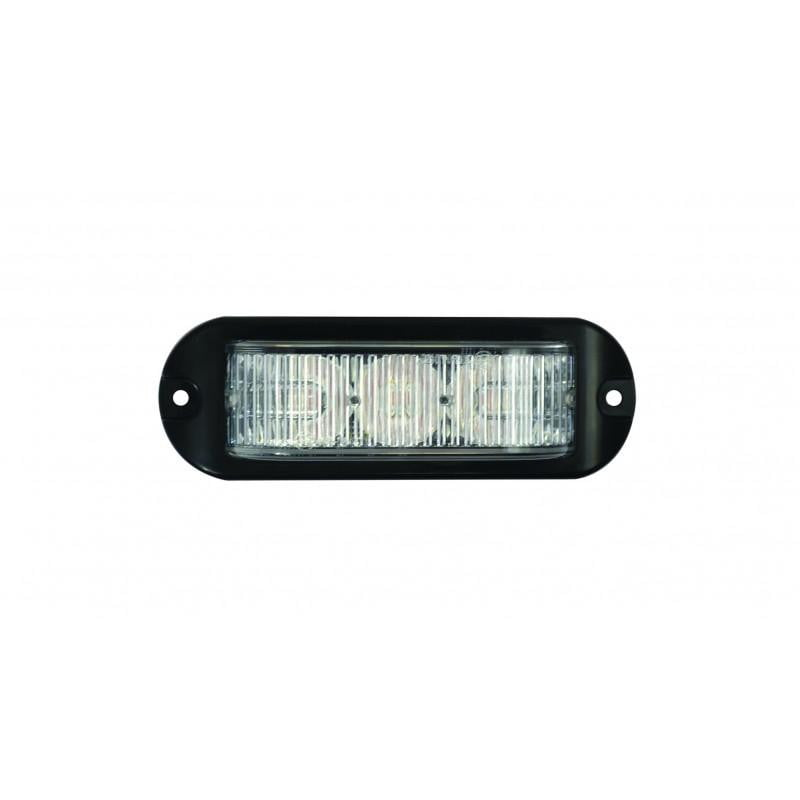 ElectraQuip 3 LED Amber 12/24V Warning Lamp