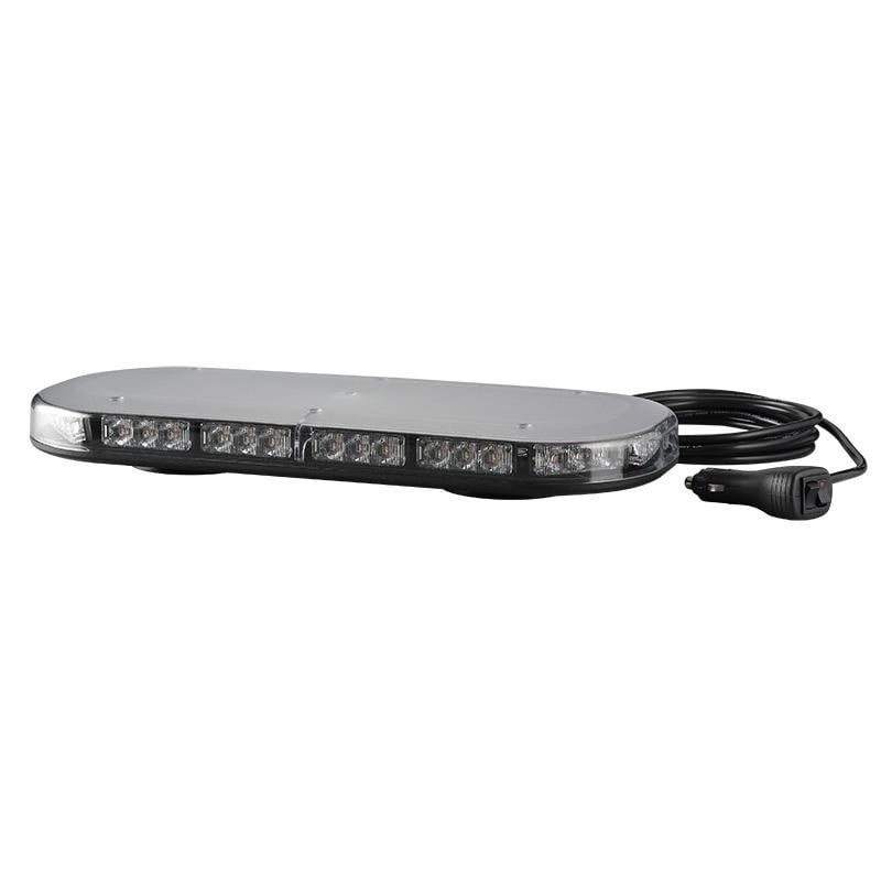 Mini LED Amber Lightbar R65 - 380mm Length