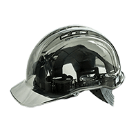 Safety helmet Peak View Ratchet Hard Hat Vented
