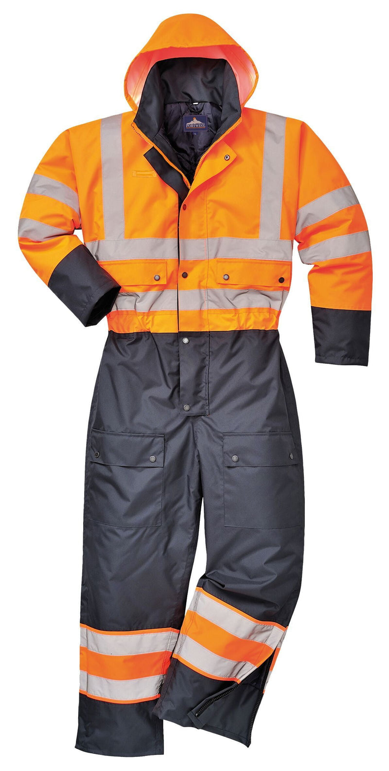 Hi-Vis Coveralls - Lined & Waterproof