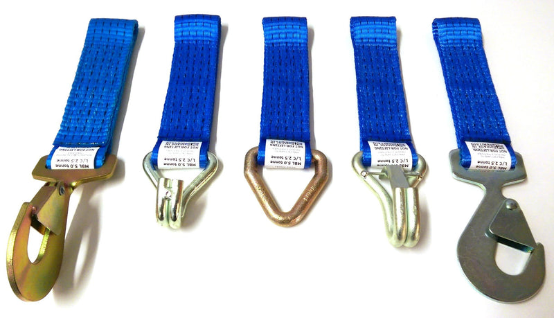 5000 kg Replacement Strap Short End with Hook