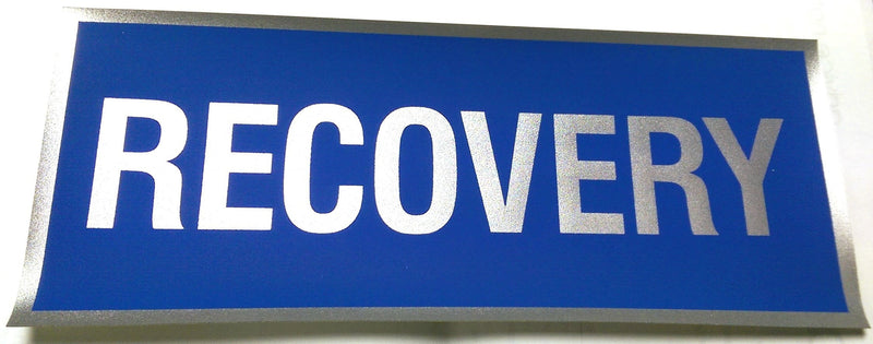 Reflective Recovery Badge