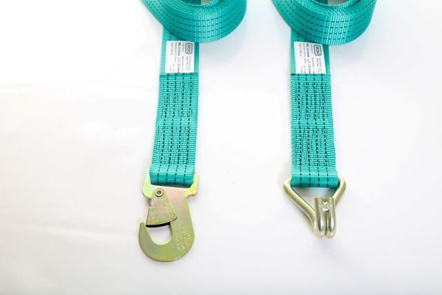 2.5 Tonne 4m Straps with Hooks