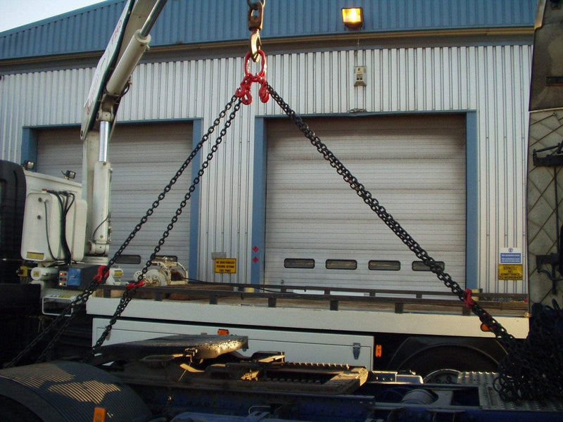 Roll Over Chain Sling G80 2 Legs x 2m