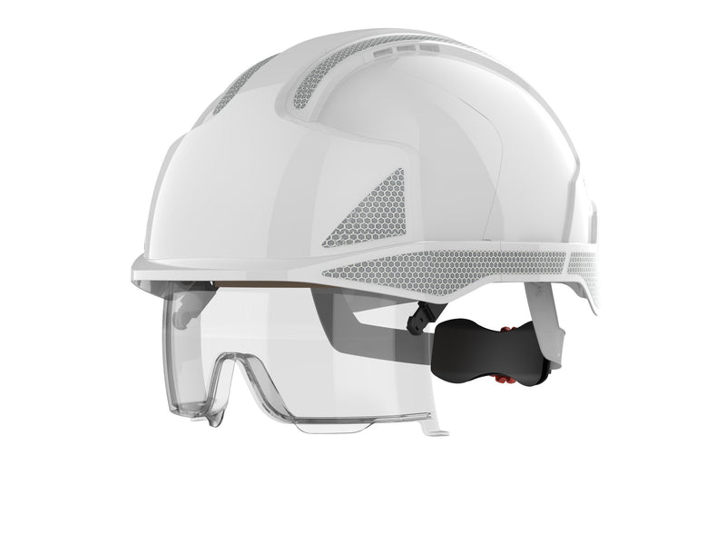 EVO®VISTAlens™ Safety Helmet Vented c/w Reflective Decals