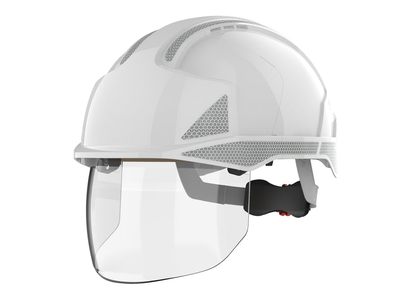 EVO®VISTAshield™ Safety Helmet Vented c/w Reflective Decals