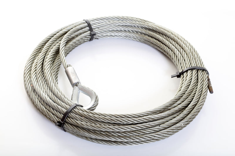 Winch Rope with Hard Eye