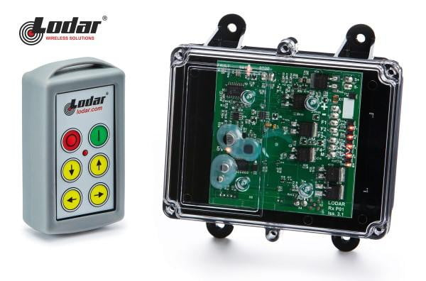 LODAR 4 function Radio Remote Control with Master Stop
