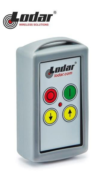 LODAR 2 function radio remote system with Master Stop