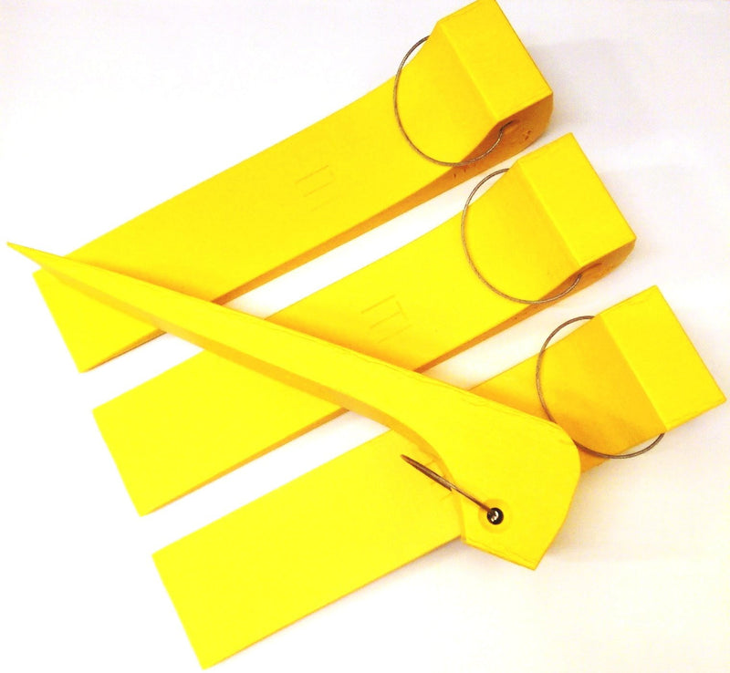 Recovery Wheel Skate Skid for Cars - YELLOW