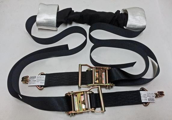 Motorcycle Recovery Handlebar Straps