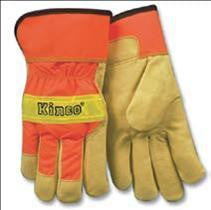Kinco® 1918 Pigskin Rigger Gloves with Reflective Knuckle