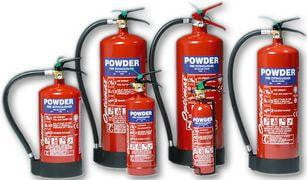 Fire Extinguishers - Dry Powder