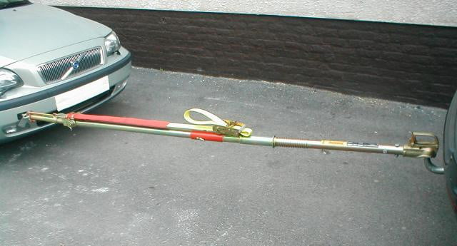MK-3 Tow Pole with pivoting front end
