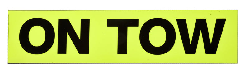 On Tow Fluorescent Sticker Magnetic