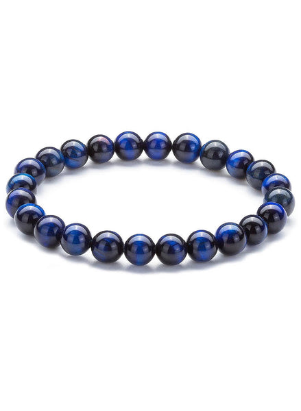 Natural Stone Blue Onyx Bracelet FREE & FAST SHIPPING (US only)