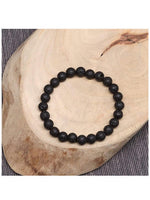 Beads Bracelet Natural Lava Stone  FREE & FAST SHIPPING (US Only)