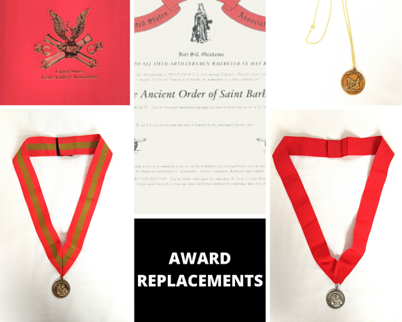 Award Replacements