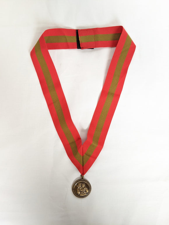 Ancient Order of Saint Barbara Medal with Ribbon