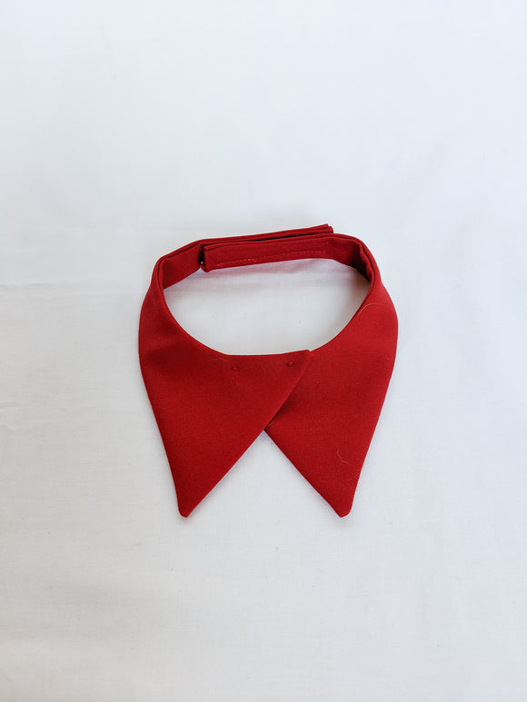 Red Collar Tabs for Female Class A
