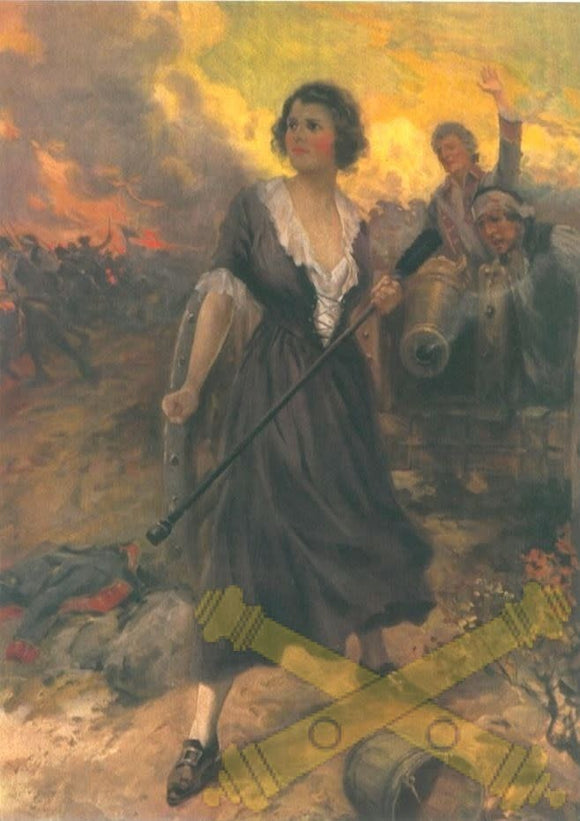 Molly Pitcher Color Print - 8.5'' x 11''