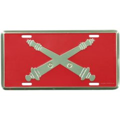 Field Artillery License Plate