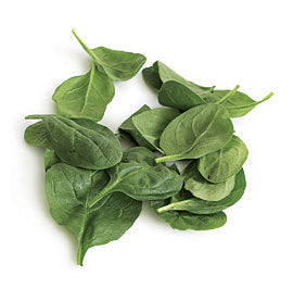 Fresh Spinach Cleaned 2.5lbs Bag