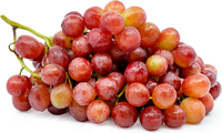 Fresh Grapes Red Seedless 2lbs Bag
