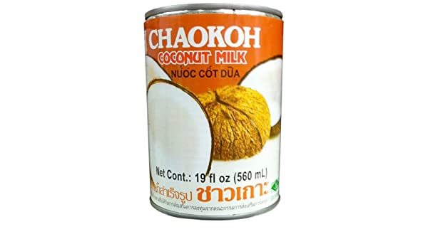Canned Coconut Milk 19oz (Chaokoh)
