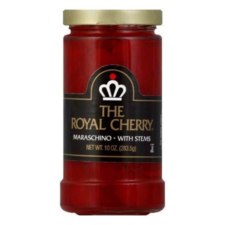 Maraschino Cherries 10oz Jar (The Royal Cherry)